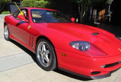 Me in Ferrari